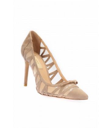 İnci Hakiki Deri Bej Kadın Ayakkabı 6109 120130006962