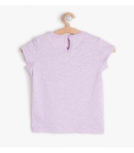 Koton Kız Bebek Dantel Detaylı T-Shirt