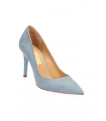 İnci Açık Mavi Kadın Topuklu Ayakkabı  5639 120130005544