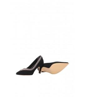 İnci Gri Kadın Klasik Topuklu Ayakkabı  7128 120130009168