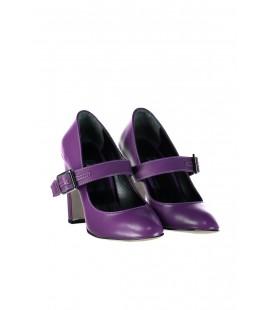 İnci Mor Kadın Klasik Topuklu Ayakkabı 7137 120130009177