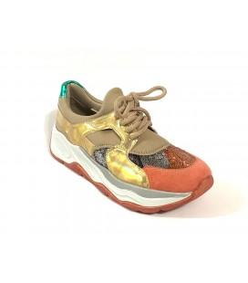 İnci Kadın Bej Sneaker 7668