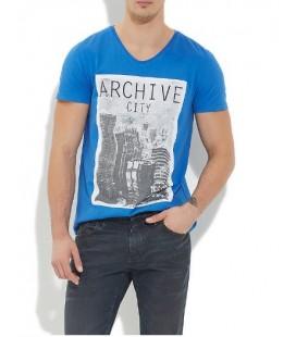 Mavi Erkek Tişört