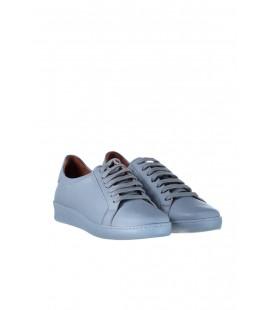 İnci Hakiki Deri Mavi Kadın Sneaker 7460 120130009772
