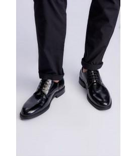 İnci Hakiki Deri Siyah Erkek Oxford Ayakkabı 6950 120130008975