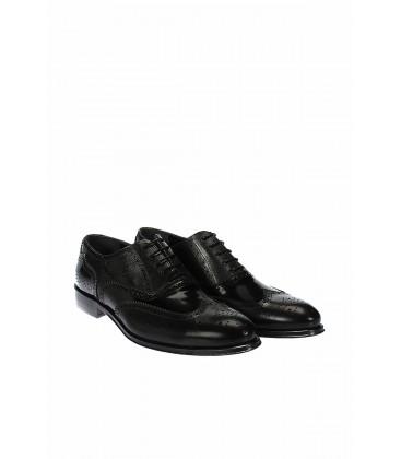 İnci Hakiki Deri Siyah Erkek Ayakkabı 5880 120130005737