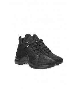 İnci Siyah Kadın Sneaker 6989 120130009015