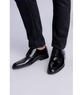 İnci Hakiki Deri Siyah Erkek Klasik Ayakkabı 6946 120130008971