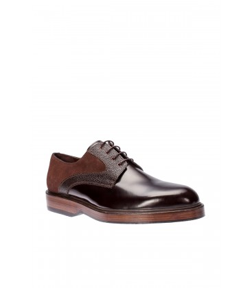 İnci Hakiki Deri Koyu Kahverengi Erkek Klasik Ayakkabı 4713 120130003293