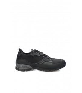 İnci Hakiki Deri Siyah Erkek Sneaker 7012 120130009038