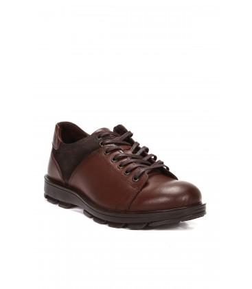 İnci Hakiki Deri Kahverengi Erkek Ayakkabı 4660 120130003237