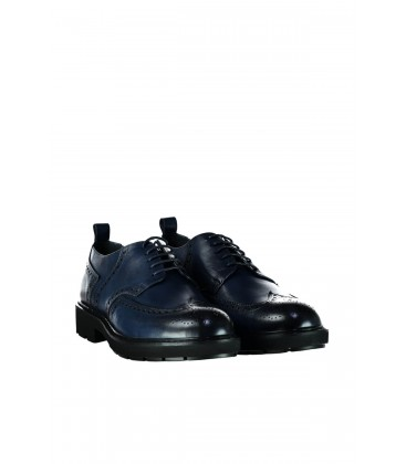 İnci Hakiki Deri Lacivert Erkek Oxford Ayakkabı 6766 120130008781