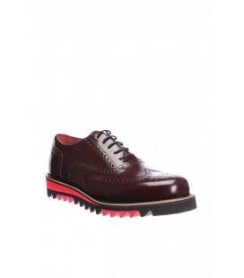 İnci Hakiki Deri Bordo Erkek Ayakkabı 0337 120119527010