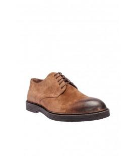İnci Hakiki Deri Süet Koyu Vizon Erkek Ayakkabı 5191 120130003748