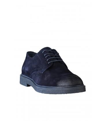 İnci Hakiki Deri Süet Lacivert Erkek Ayakkabı 120130003748