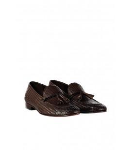 İnci Hakiki Deri Kahverengi Erkek Ayakkabı 3304 120130002131