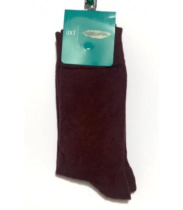 İnci Bordo Erkek Çorap 5284