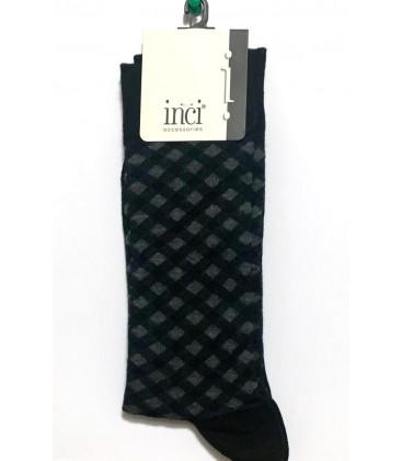 İnci Siyah Erkek Çorap 5286