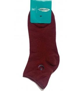 İnci Kadın Bordo Kısa Çorap 5271