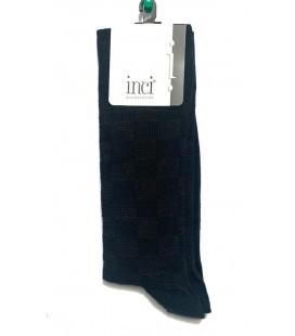 İnci Erkek Desenli Lacivert Çorap 5287