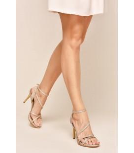 İnci Kadın Altın Topuklu Ayakkabı 6891 120130008915