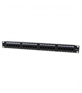 HCS Patch Panel, 24xRJ45,Cat6 UTP ,Dolu