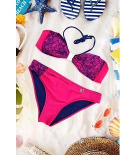 Mite Love Kadın Pembe Modern Tasarım Bikini Nelsia ML-2011