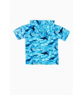 Nebbati Erkek Çocuk Desenli S-shirt 20SS0NB3410