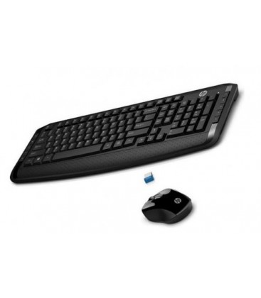 Hp 300 Kablosuz Klavye Mouse Set Siyah 3ML04AA