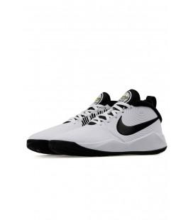 Nike Team Hustle Beyaz Kadın Basketbol Ayakkabısı Aq4224-100