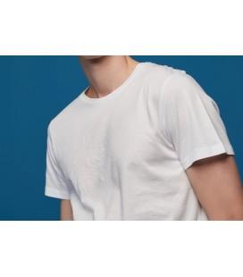 Mudo Beyaz Baskılı Erkek Tişört 1223946003