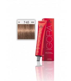 İgora Royal Saç Boyası 7.65 Kumral Altın Kestane 60 ml