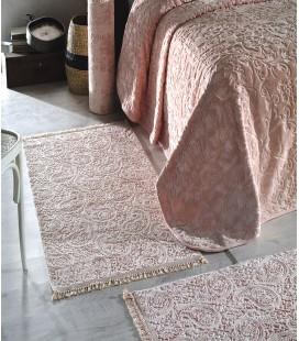 Soley Dream Pudra 3'lü Yatak Odası Halı Seti