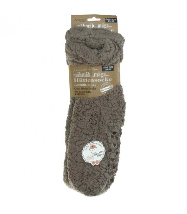 Antonio Unisex Rahat Yün Çorap Kahverengi 70.00303.99