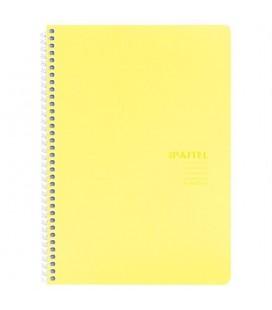Keskin Color Pastel Note 17x24cm 80 Yaprak Çizgisiz Pp Kapak Spiralli Defter 60 gram 327750-99