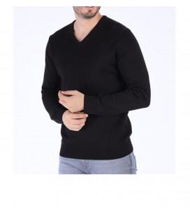 Twister Jeans Erkek Slim Fit Trıko Et 3622 (T) Sıyah 20WE06000163