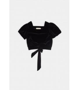 BG Store Kız Çocuk Siyah Bluz 20fwts0t337
