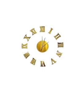 Dekolia Göbek Duvar Saati Romen Rakamlı