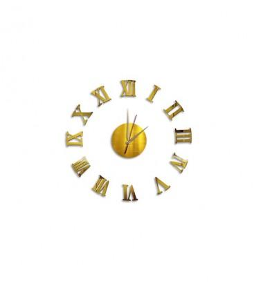 Dekolia Göbek Duvar Saati Büyük Ahşap Romen Rakamlı ART1133