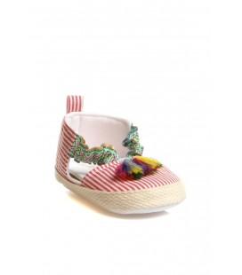 First Step Kız Bebek Kırmızı Ayakkabı 20YFSPKAYK007
