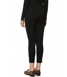 Network Kadın Regular Fit Siyah Pantolon 1070794