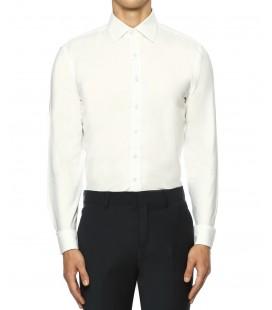 Network Erkek İtalyan Yaka Beyaz Gömlek 1071110