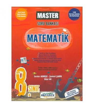 8. Sınıf Master Matematik Soru Bankası Okyanus Yayınları