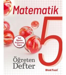 5. Sınıf Matematik Öğreten Defter Blok Test Yayınları