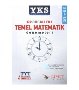 YKS Kronometre Temel Matematik Denemeleri 20x40 Limit Yayınları