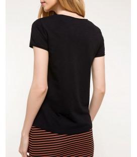 Defacto Kadın Basic V Yaka T-shirt I4095AZ.18SP.BK27