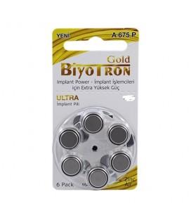 Biyotron Cochlear Implant A675 Numara Kulaklık Pili 6Lı