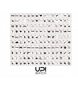Up! Watch Led White Unisex Saat
