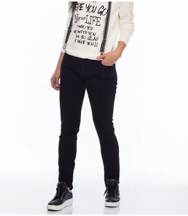 Koton Kadın Lacivert Kadife Pantolon 4KAK47960DW