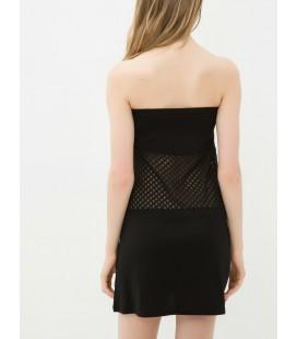 Koton Kadın Straplez Elbise Siyah 6YAK88444BK999